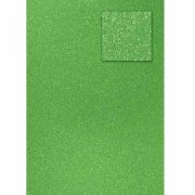 Glitter Papper A4 - Light Green - 200 g
