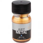 Art Metall färg - Mellanguld - 30 ml