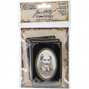 Idea-Ology Framed Portraits Halloween - 6 st - Tim Holtz