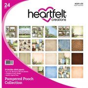 Paper Pad 12x12 - Heartfelt Creations - Pampered Pooch