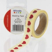 Washi Tape - Red Hearts - Artemio - 10m