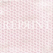 Papper Reprint - Sweet Baby Pink - Baby Feet