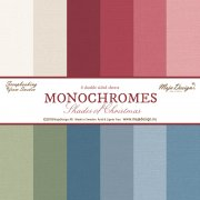Maja Monochromes - Shades of Christmas - Alla 6 ark