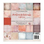Paper Pad Heirloom Botanicals - 6x6 - 49 and Market