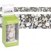 Dekorationstejp 2-pack - Heyda - Pebble
