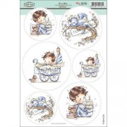 Wee Stamps Topper Sheet A4 - It's A Boy
