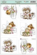 Wee Stamps Topper Sheet A4 - Beau & Bashful
