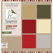 Cardstock Pack - Photo Play - Holiday Cheer 6 ark