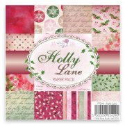 Paper Pad 6x6 Wild Rose Studio - Holly Lane 36 ark