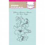 Utgår! Clearstamps StudioLight - Where Flowers Bloom So Does Hope