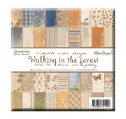"Paper Pad 36 ark Maja Design 6""x6"" - Walking In The Forest"