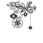 Embossing Folder -Nellie Snellen - Decoration