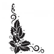 Embossing Folder -Nellie Snellen - Holly