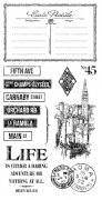 Graphic 45 Cling Stamps - Cityscapes - #3