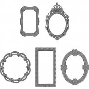 Idea-Ology Metal Deco Frames Tim Holtz Dekoration