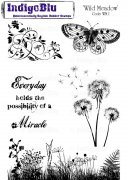 Rubber Stamp IndigoBlu - Wild Meadow