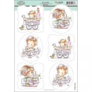 Wee Stamps Topper Sheet A4 - It's a Girl