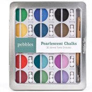 I Kan'dee Chalk Set - Pebbles - Pearlescent Jewel Tones