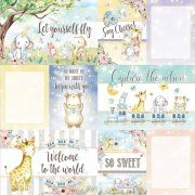 Papper Asuka Studios - Dreamland - Journaling Cards 1