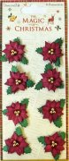 Dovecraft - The Magic Of Christmas Flowers - Poinsettia