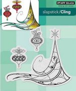 Cling Stamp Penny Black - Deco Tree