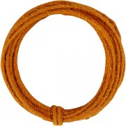 Jute Wire 2-4 mm - Orange - 3 m