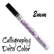 Kalligrafi Penna 2mm - DecoColor Liquid Black