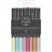 Kelly Creates Bullet Tip Pens - Metallic - 8 st