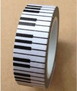 Washi Tape - Keyboard Piano 10m