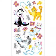Stickers Sticko - Playful Kittens - Katt 20 delar