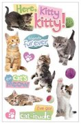 3D Stickers - Here Kitty Kitty - Paper House