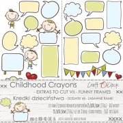 Klippark Craft O Clock - Childhood Crayons - Funny Frames
