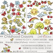 Klippark Craft O Clock - Childhood Crayons - Funny Nature