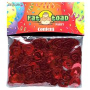 Konfetti - Red Hearts - 15g