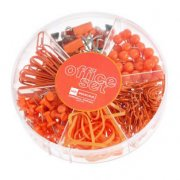 Kontors set - CandyColor - Orange - 245 delar