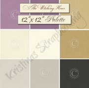 Palette Pion Design 12x12 - Cardstock Paket - The Witching Hour