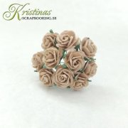 Mulberry Rose - 10 mm - Latte