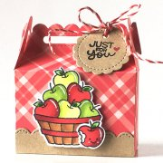 Dies Lawn Fawn Cuts - Scalloped Treat Box