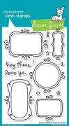 "Clear Stamps 4""X6"" - Lawn Fawn - Flirty Frames"