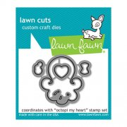 Lawn Fawn Cuts Custom Craft Die - Octopi My Heart