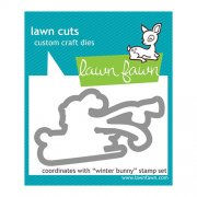 Lawn Fawn Cuts Custom Craft Die - Winter Bunny