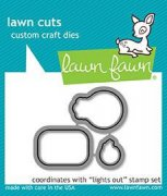 Lawn Fawn Cuts Custom Craft Die - Lights Out