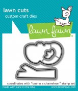 Lawn Fawn Cuts Custom Craft Die - One in a Chameleon
