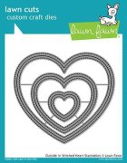 Dies Lawn Fawn Cuts - Outside In Stitched Heart Stackables