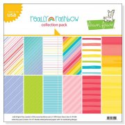 "Paper Pad 12""x12"" - Lawn Fawn - Really Rainbow"
