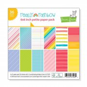 "Paper Pad 6""x6"" - Lawn Fawn - Really Rainbow"