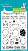 Lawn Fawn Clearstamps - Chirpy Chirp Chirp