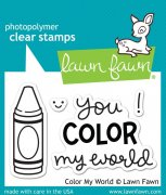 Lawn Fawn Clearstamps - Color My World