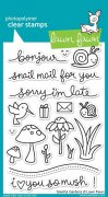 Lawn Fawn Clearstamps - Gleeful Gardens