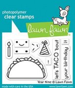 Lawn Fawn Clearstamps - Year Nine